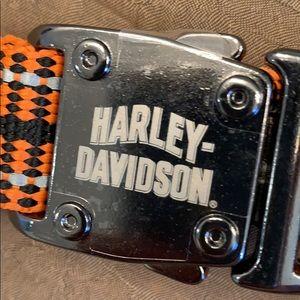 Harley Davidson large Dog Collar, NEW